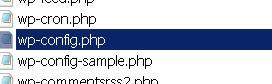 wp-config directory
