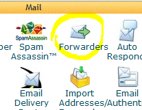 Email forwarder setup